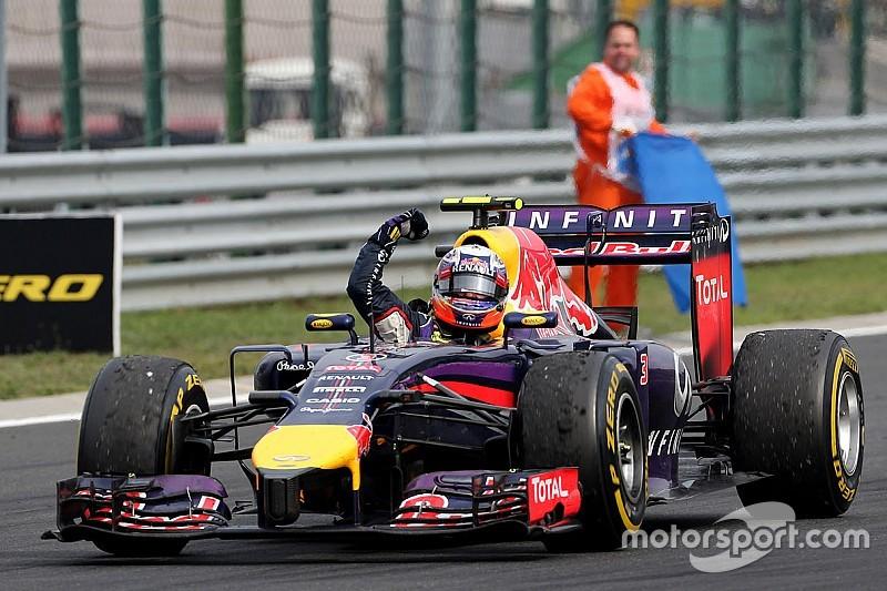 Fotogallery: le vittorie di Daniel Ricciardo con la Red Bull Racing