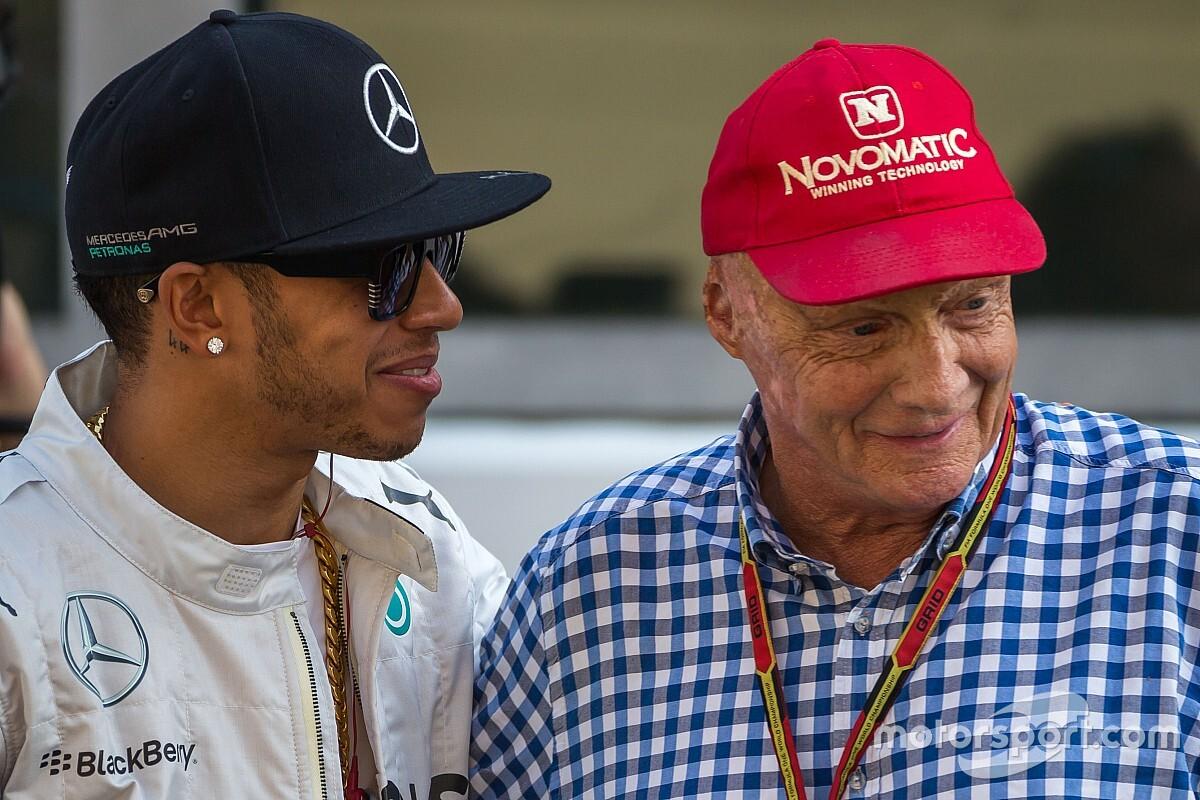 У Mercedes привітали Нікі Лауду з ювілеєм
