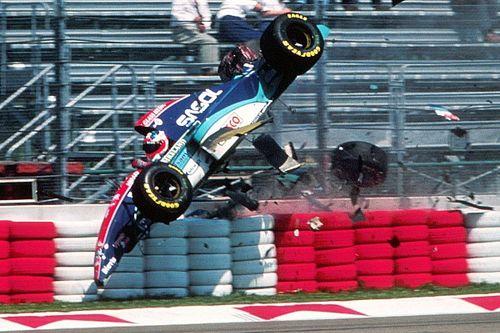 Há 25 anos, acidente de Rubinho iniciava fim de semana mais trágico da F1