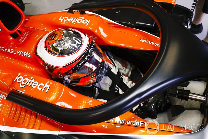 Stoffel Vandoorne, McLaren, Halo