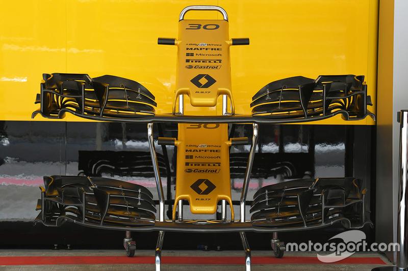 Ніс і переднє антикрило Renault Sport F1 Team RS17