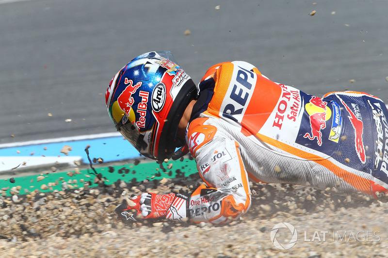 Падіння Дані Педроси, Repsol Honda Team