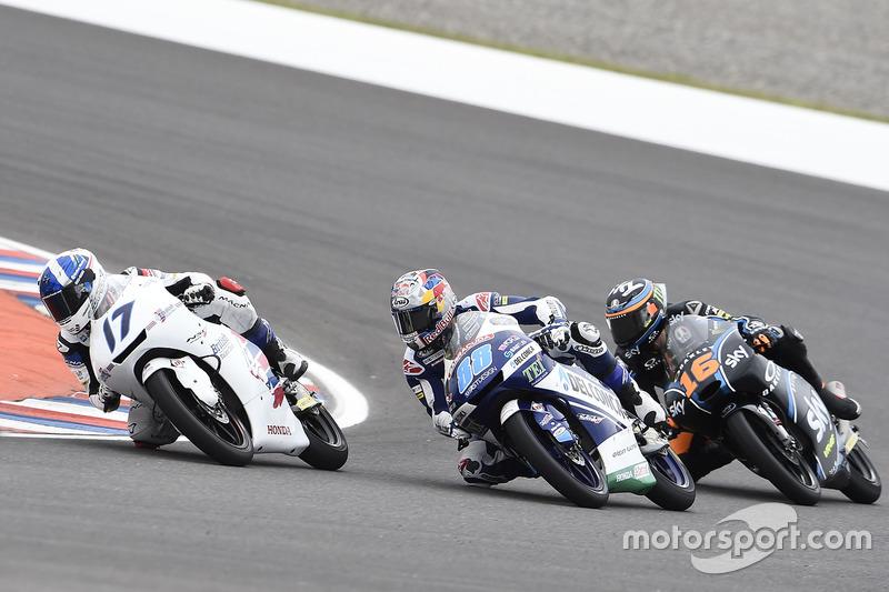 John McPhee, British Talent Team; Jorge Martin, Del Conca Gresini Racing Moto3