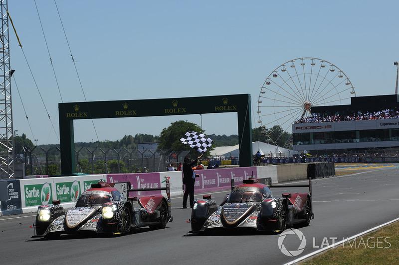 Dua mobil LMP2 dari tim Jackie Chan DC Racing raih hasil 2-3 keseluruhan