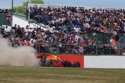 Daniel Ricciardo, Red Bull Racing RB13, gaat breed