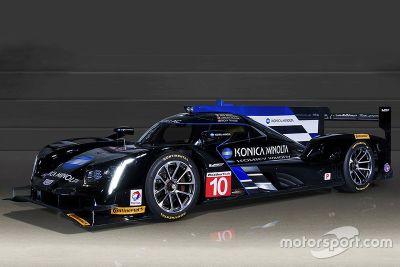 Présentation de la Cadillac DPi-V.R du Wayne Taylor Racing
