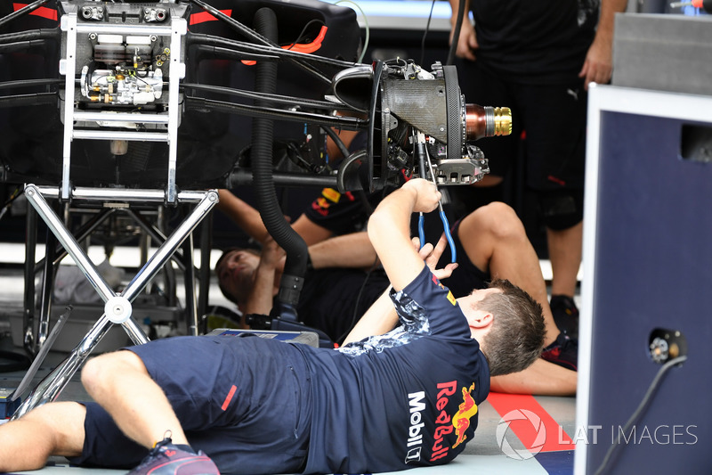 Red Bull Racing mekanikerleri