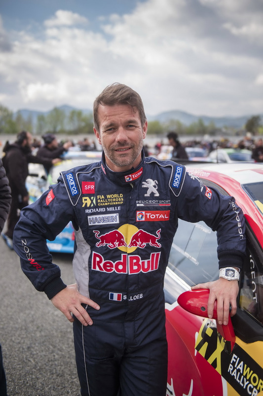 sebastien loeb team peugeot hansen peugeot 208 wrx barcelone photos world rallycross. Black Bedroom Furniture Sets. Home Design Ideas