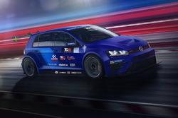 La VW Golf della WestCoast Racing