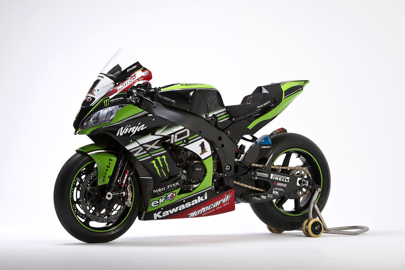 Moto de Jonathan Rea, Kawasaki Racing, Ninja ZX-10RR