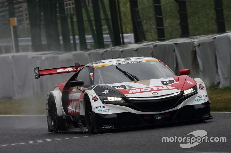 Essais de Jenson Button en Super GT