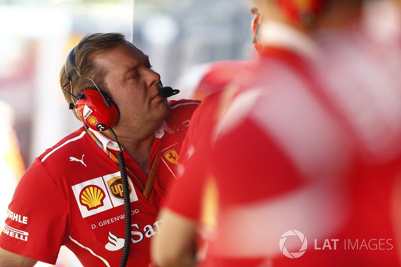 Дейв Грінвуд, гоночний інженер Ferrari