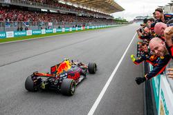 Race winner Max Verstappen, Red Bull Racing RB13