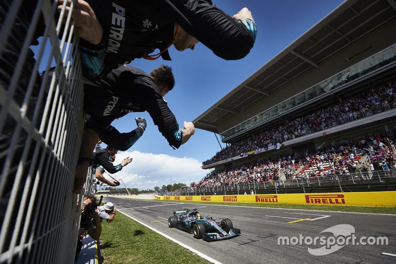 55- Gran Premio de España 2017, Mercedes
