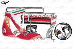 """Сідало мавпи"" Ferrari SF70H, Гран Прі Монако"