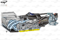 Red Bull RB6 raised gearbox