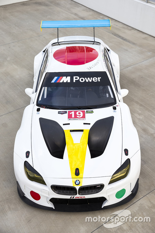 Art-Car: BMW M6 GTLM im Design von John Baldessari