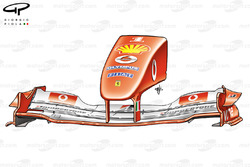 Ferrari F2004 (655) 2004 front wing and nose