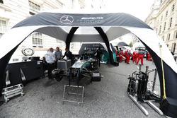 Mercedes AMG F1 e Ferrari si preparano per l'evento London F1