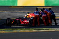 Даниэль Риккардо, Red Bull Racing RB13: сход