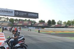 MotoGP-Schikane in Barcelona