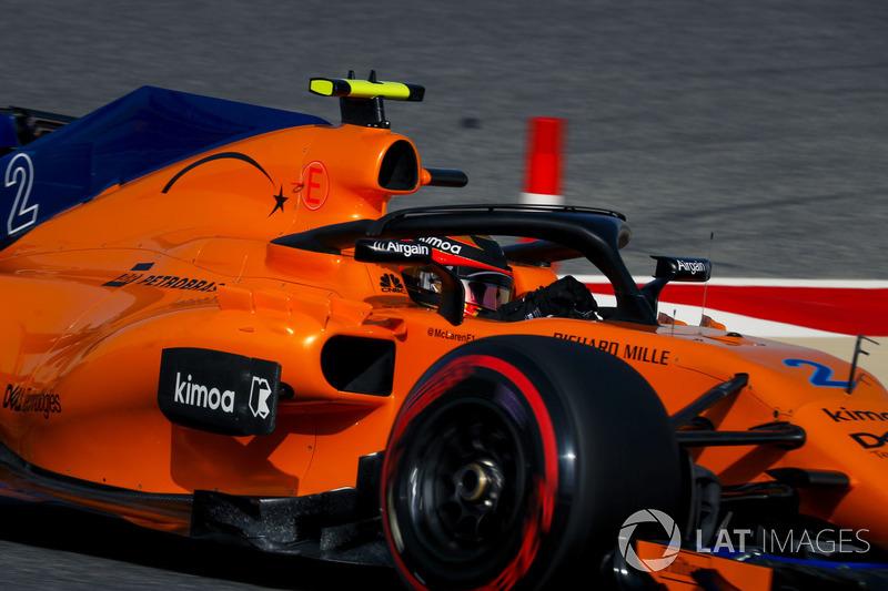10 місце — Стоффель Вандорн, McLaren. Умовний бал — 10,000