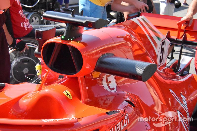 Ferrari SF71H, légbeömlő