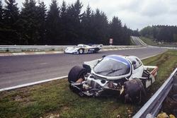 Accidente de Derek Bell, Stefan Bellof, Porsche 956