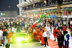 LMGTE Pro: second place #51 AF Corse Ferrari 488 GTE: James Calado, Alessandro Pier Guidi