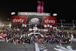 Team Penske celebrate winning the 2017 NASCAR Xfinity Series Owners Championship