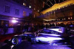 Un Mercedes en exhibición