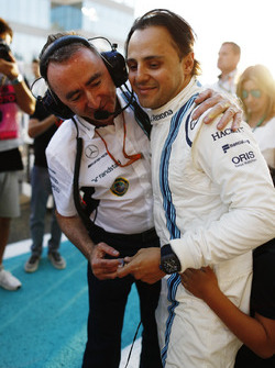 Paddy Lowe, Chief Technical Officer, Williams Formula 1, Felipe Massa, Williams