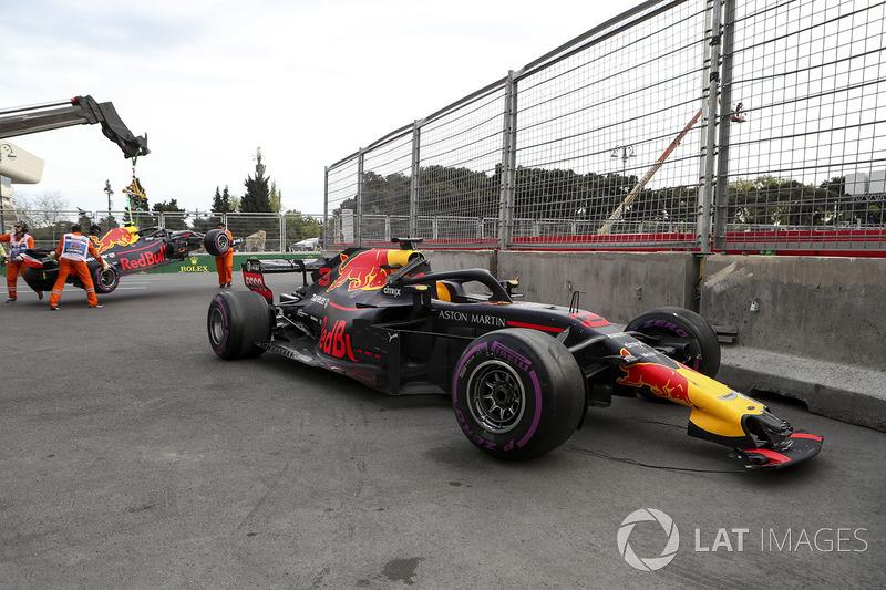 سيارة دانيال ريكاردو، ريد بُل ريسينغ بعد الحادث