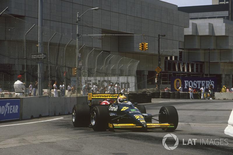 Пьерлуиджи Мартини, Minardi M188 Ford (1 очко)