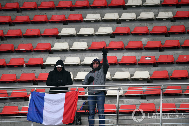 Болельщики с флагом Франции