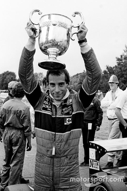Bertrand Fabi, vainqueur de la course