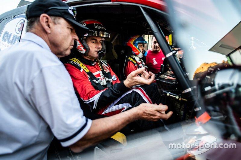 Test di Alonso e Toyota in Arabia Saudita