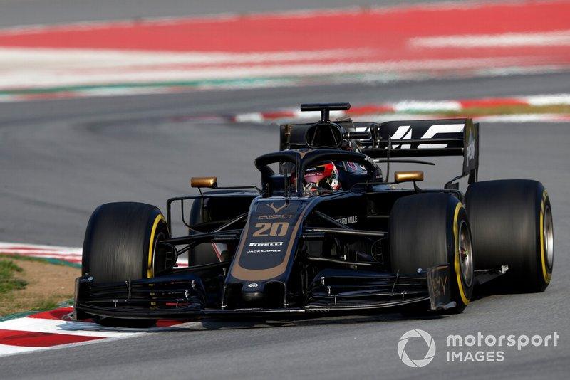 9º Romain Grosjean, Haas F1 Team VF-19, 1:17.076 (neumáticos C5, día 8)