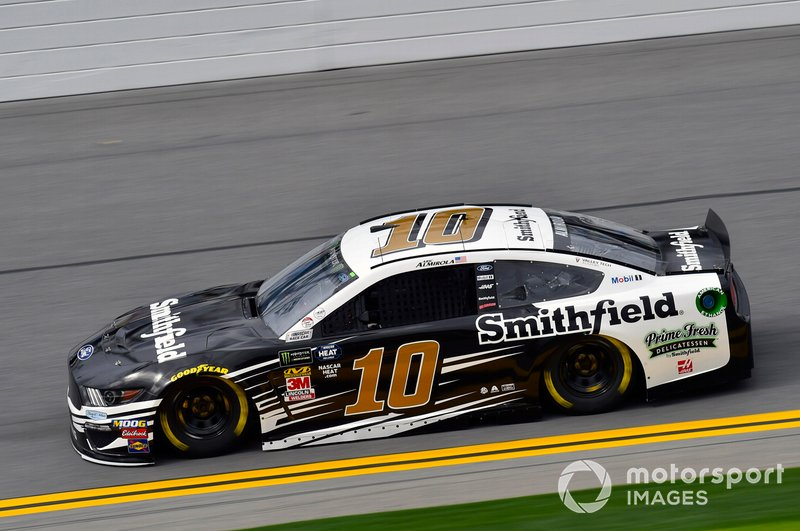 8. Aric Almirola, Stewart-Haas Racing, Ford Mustang Smithfield