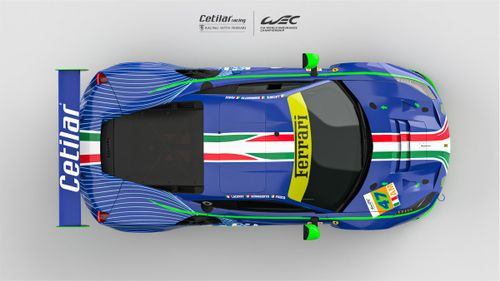 Presentación Cetilar Racing