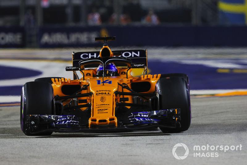 15. Gran Premio de Singapur: la última victoria de Alonso en F1