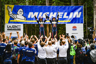 2018 WRC champions Sébastien Ogier, Julien Ingrassia, Ford Fiesta WRC, M-Sport Ford