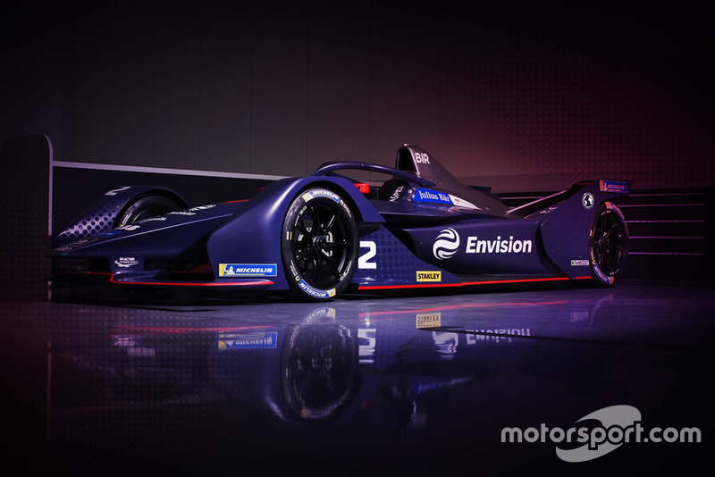 Автомобиль Virgin Racing