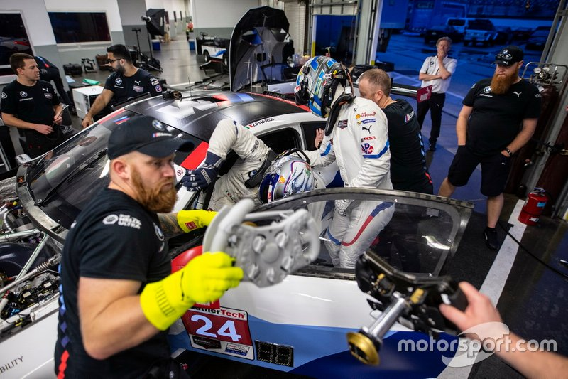 #24 BMW Team RLL BMW M8 GTE, GTLM: John Edwards, Alex Zanardi