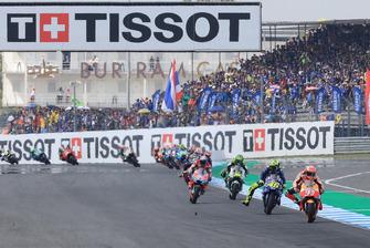 Renn-Action in Buriram: Marc Marquez, Repsol Honda Team, führt