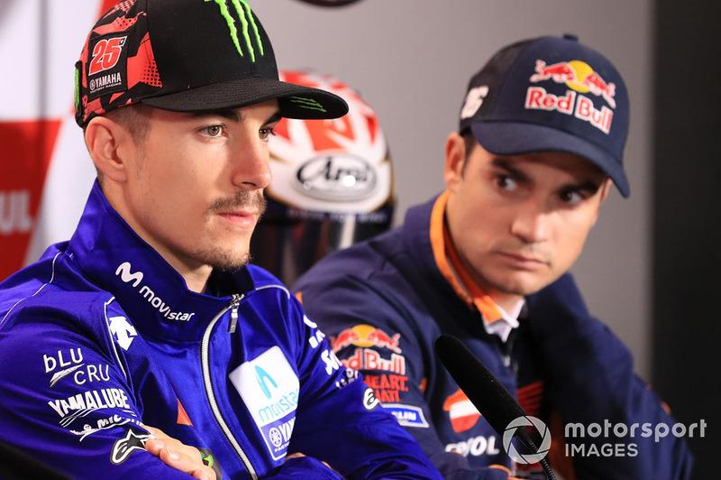 Маверік Віньялес, Yamaha Factory Racing, Дані Педроса, Repsol Honda Team