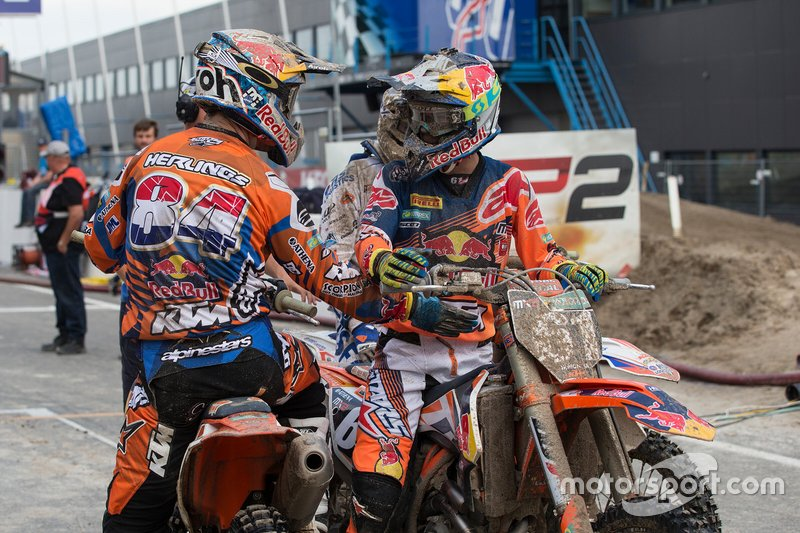 Jeffrey Herlings en Jorge Prado, Red Bull KTM Facotry Racing