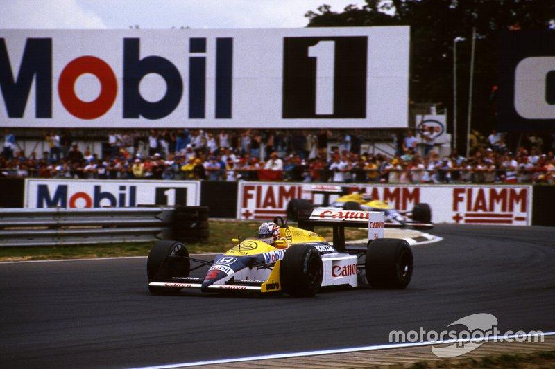 Найджел Мэнселл и Нельсон Пике, Williams FW11B Honda, 1987 год