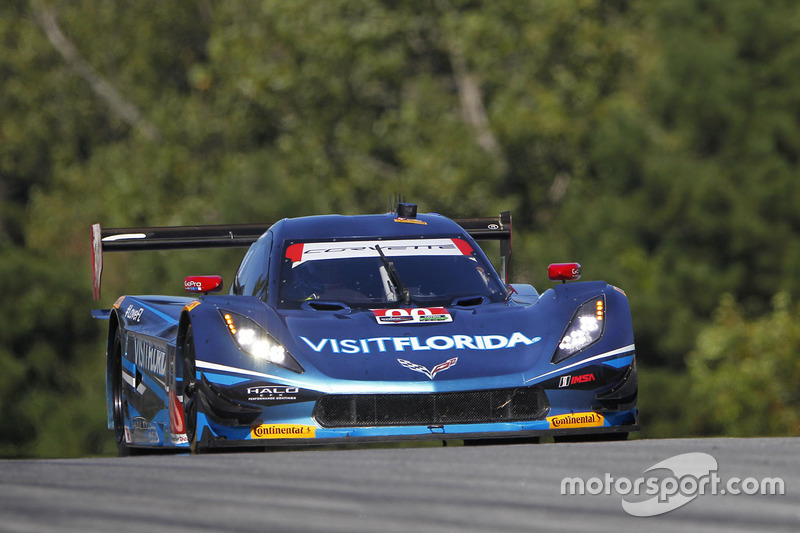 #90 VisitFlorida.com Racing, Corvette DP: Marc Goossens, Ryan Dalziel, Ryan Hunter-Reay