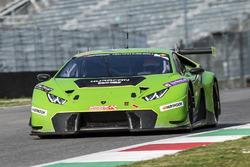 #963 GRT Grasser Racing Team Lamborghini Huracan GT3: Rolf Ineichen, Marc Ineichen, Adrian Amstutz,
